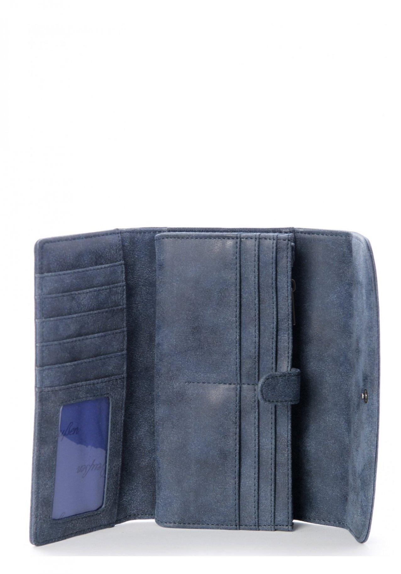 ac0cf18a76d36 Fritzi aus Preußen Wallet Heide Vintage Blue Damen-Geldbörse nur 29.90€
