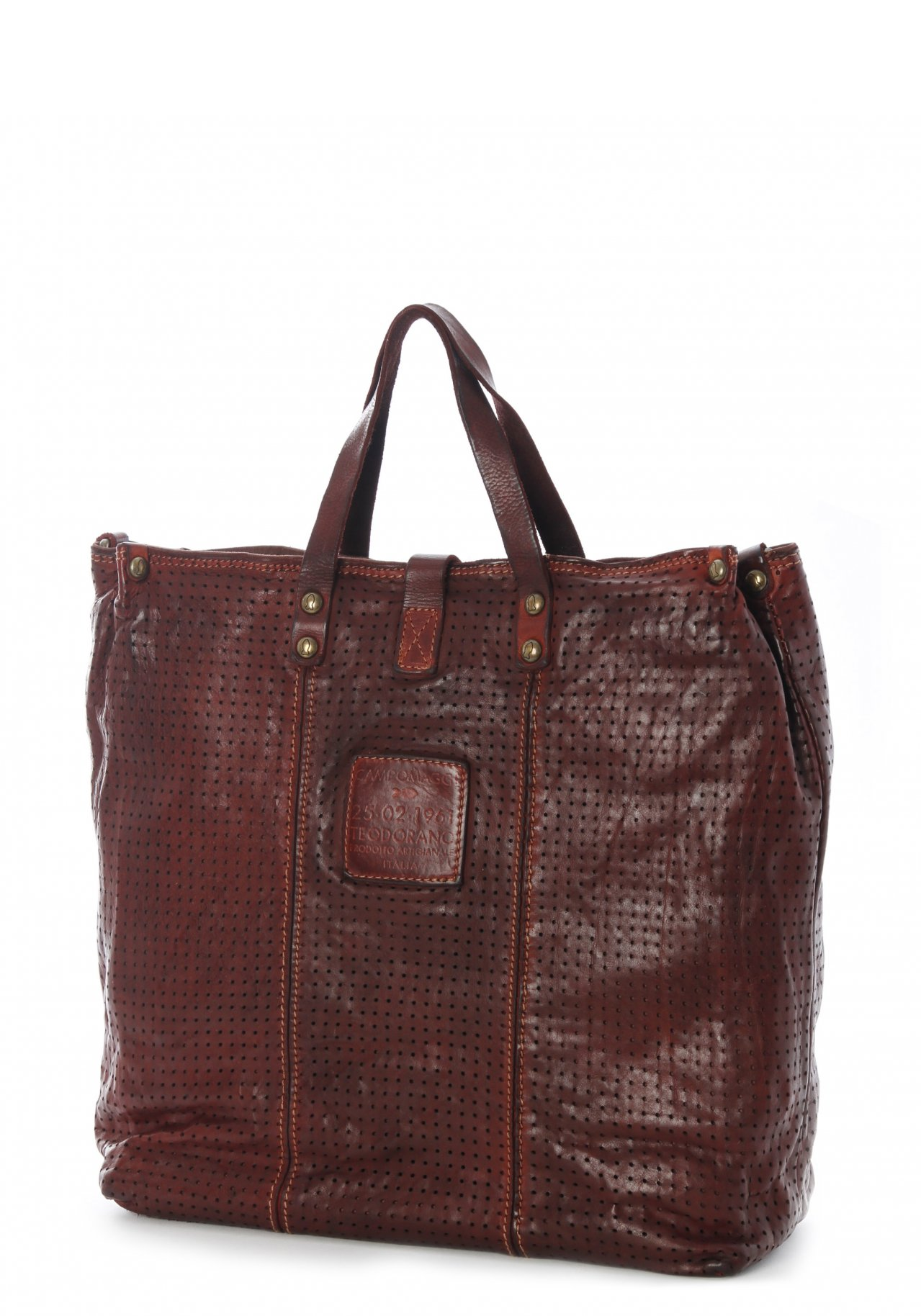 campomaggi la shopping handbag shopper nur. Black Bedroom Furniture Sets. Home Design Ideas