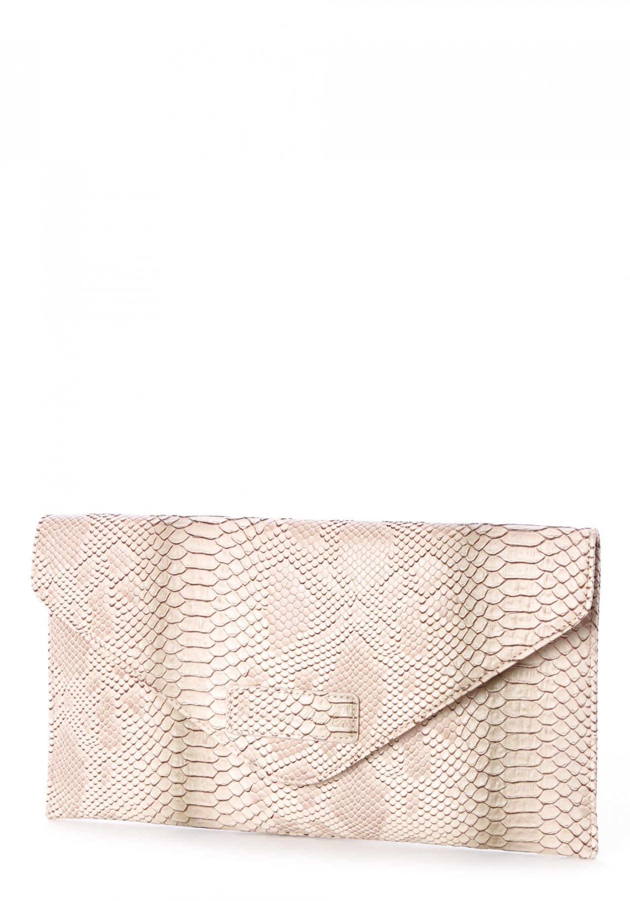 fritzi aus preu en melina python beige clutch nur. Black Bedroom Furniture Sets. Home Design Ideas