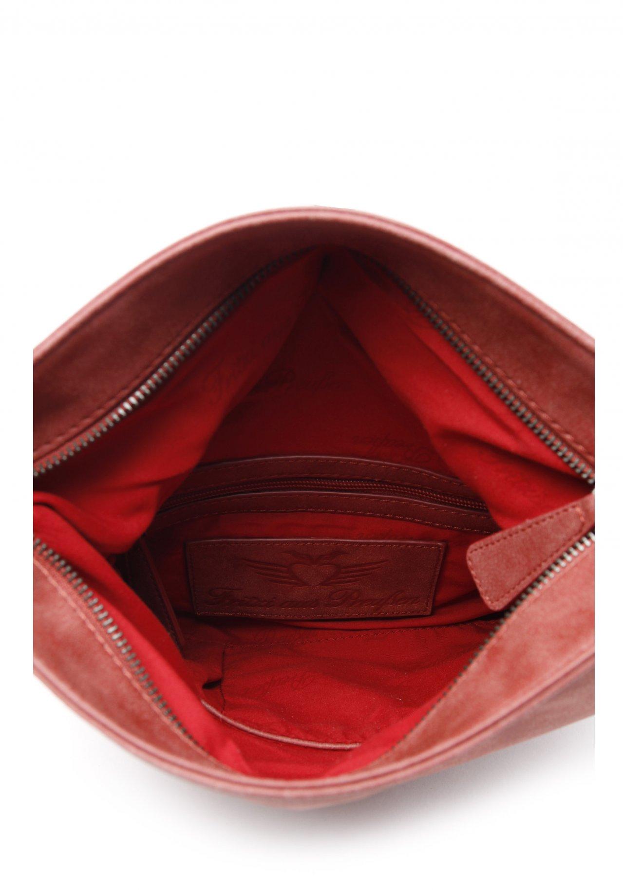 fritzi aus preu en ronja vintage red clutch nur. Black Bedroom Furniture Sets. Home Design Ideas