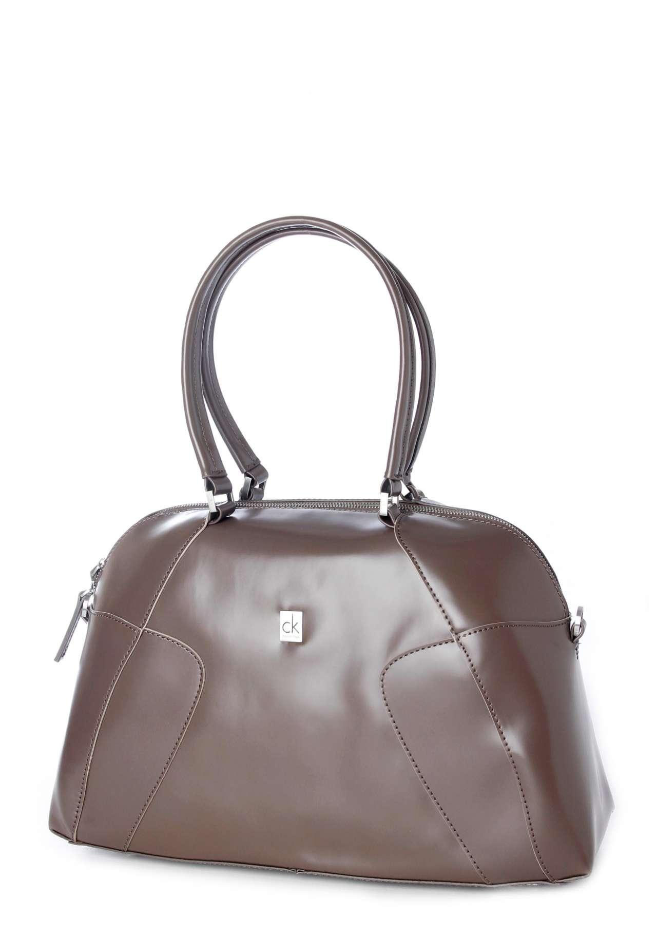 ck calvin klein bold satchel henkeltasche nur. Black Bedroom Furniture Sets. Home Design Ideas
